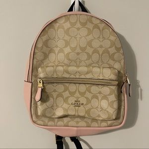 COACH Signature Charlie Backpack